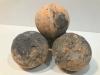 Šumivá bomba do kúpeľa - čokoláda, pomaranč a bambucké maslo. Hmotnosť: 180 gramov