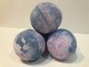 Šumivá bomba do kúpeľa - Yorkšírska fialka. Hmotnosť: 180 gramov