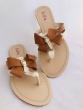 Dámske šľapky VB 37015 Camel