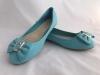 Dámske balerínky L802 modrá