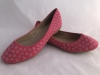Dámske balerínky YG-7 ružovo-červená