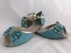 Dámske sandále XW9068 modrá