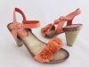 Dámske sandále H187 oranžová