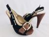 Dámske sandále 168-21 čierna