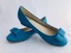 Dámske balerínky 9138-1 modrá
