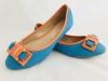 Dámske balerínky RD-888 modro-oranžová