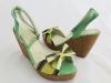 Dámske sandále H8304-3 zelená