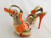 Dámske sandále YK2123 oranžová