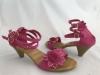 Dámske sandále 28 63 ružová
