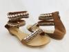 Dámske sandále XL01 camel