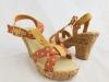 Dámske sandále HY1321 oranžová