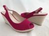 Dámske sandále 5781-KL fushia