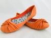Dámske balerínky 888-60 oranžová