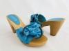 Dámske šľapky 349-9A modrá