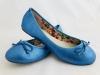 Dámske balerínky 1027 modrá