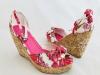 Dámske sandále DA-011 červená