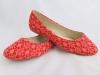 Dámske balerínky 8905-BL červená