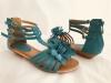 Dámske sandále 9539-KL modrá