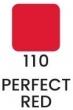 Velvet – dlhotrvajúci rúž-110- Perfect Red