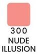VZORKA Joli Color - dlhotrvajúci matný rúž-300- Nude Illusion