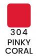 VZORKA Joli Color - dlhotrvajúci matný rúž-304- Pinky Coral