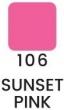 VZORKA Velvet – dlhotrvajúci rúž-106- Sunset Pink