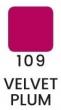 VZORKA Velvet – dlhotrvajúci rúž-109- Velvet Plum