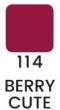 VZORKA Joli Color - dlhotrvajúci lesklý rúž -114- Berry Cute