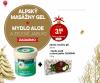 Sirael Cosmetics - Alpský masážny gel, obsah: 250 ml + Mydlo - Aloe vera a zelené jablko, 115g  ZADARMO, ***VIANOČNÁ CENA***